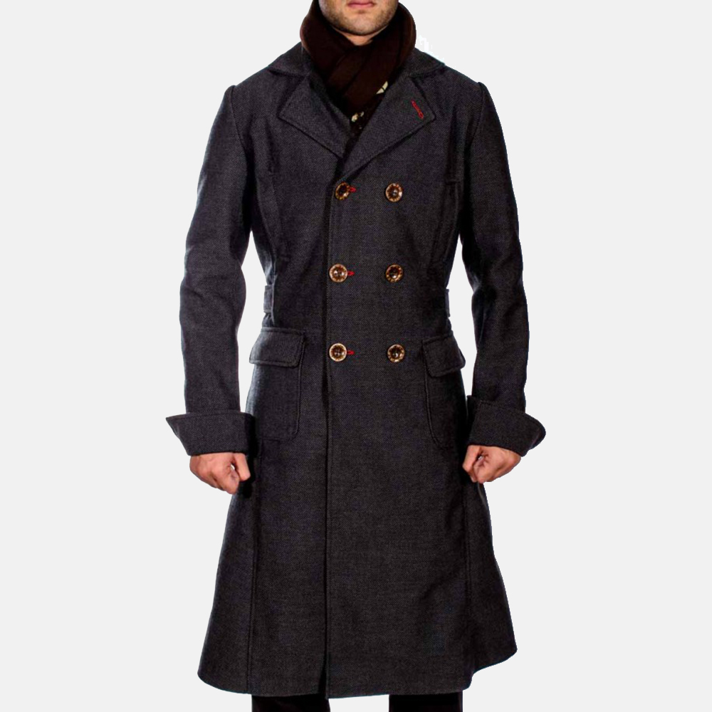 mens trench pea coat fashion women 39 s coat 2017. Black Bedroom Furniture Sets. Home Design Ideas