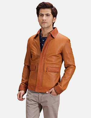 Men's Basic Essential Leather Jackets