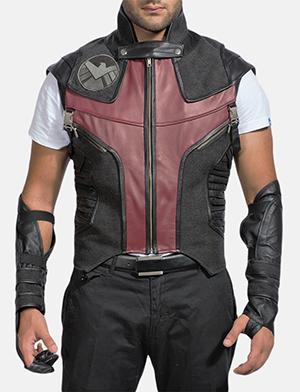 Mens Archer Leather Vest