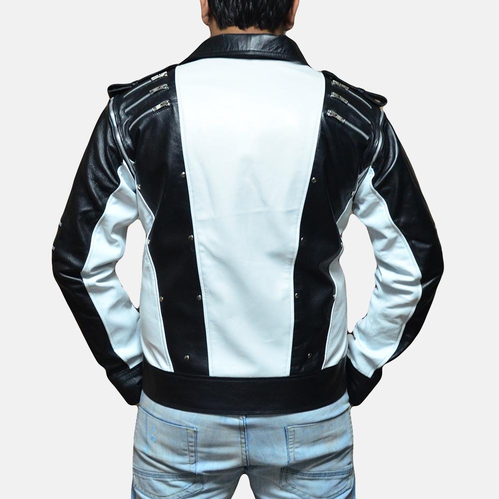 Mens Kravitz Leather Biker Jacket 4