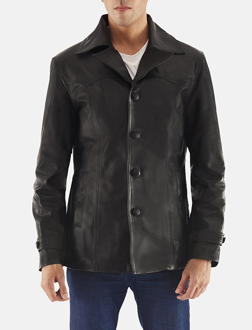 Black button down coat zoom 2 1522075179762