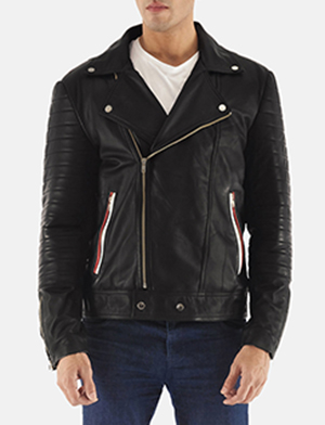 Black double rider jacket zoom 2 1491400888982