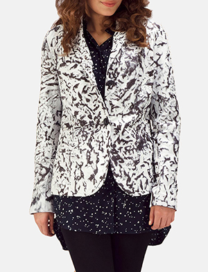 Black and white tie dye blazer zoom 2 a 1491411440651