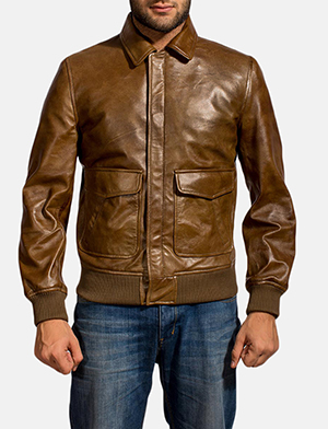 Coffmen%20brown%20leather%20bomber%20jacket%20for%20men 1491324500788