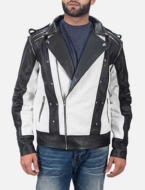 Mens Kravitz Leather Biker Jacket