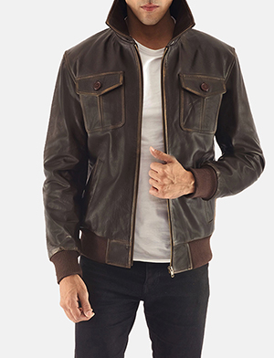 Men's Bomber Jackets - Buy Leather Bomber Jackets For Men
