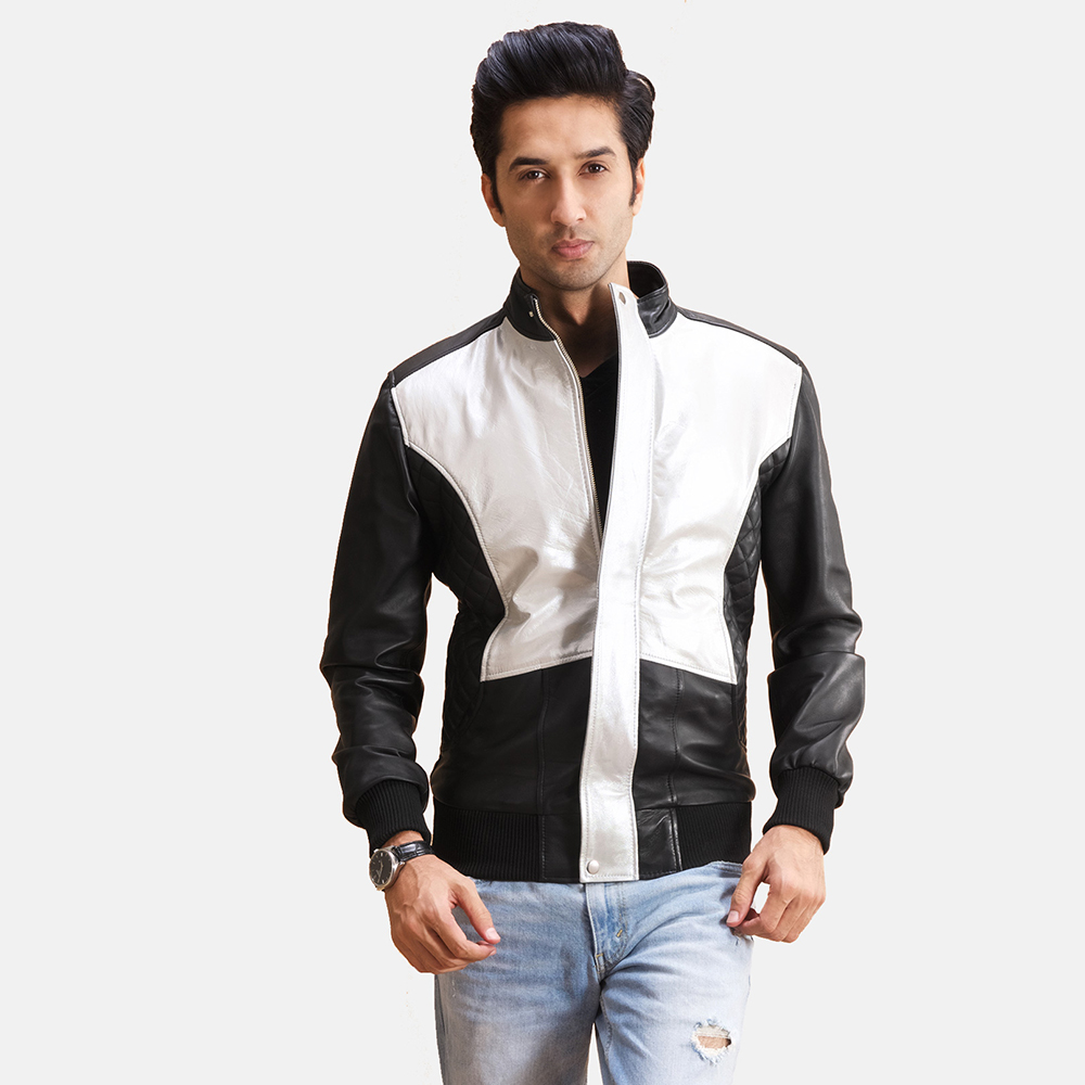 Buy leather jacket mens