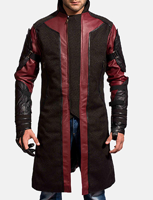 Mens Archer Leather Coat