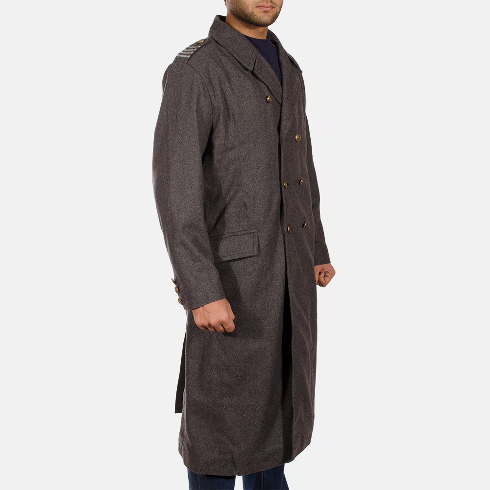 Mens Ashville Wool Peacoat 2