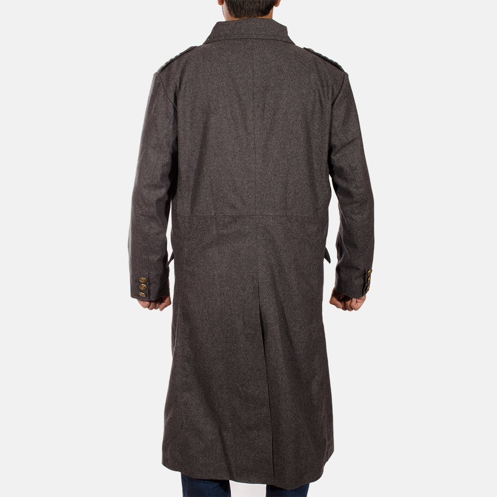 Mens Ashville Wool Peacoat 4