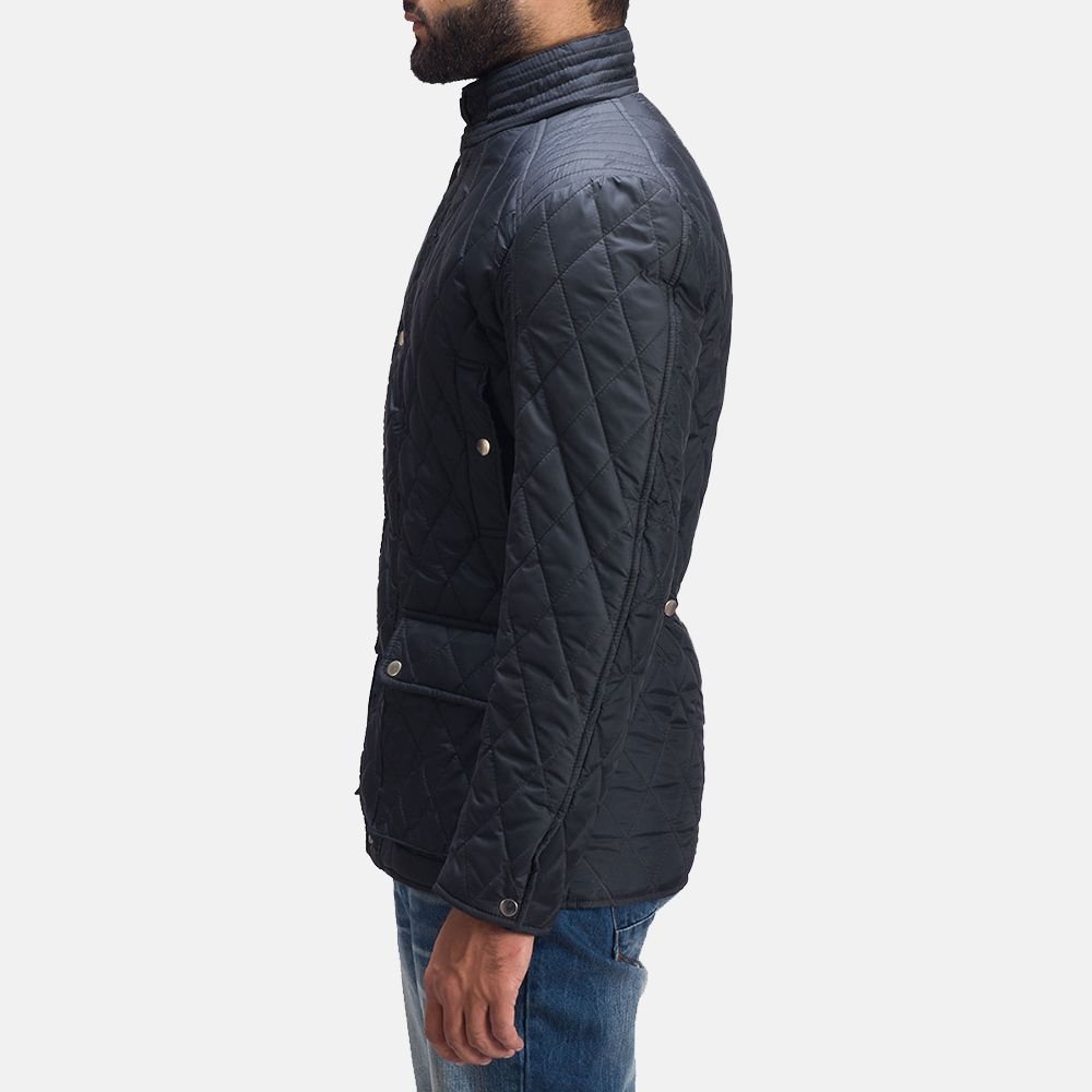 Mens Barry Quilted Windbreaker Jacket 4