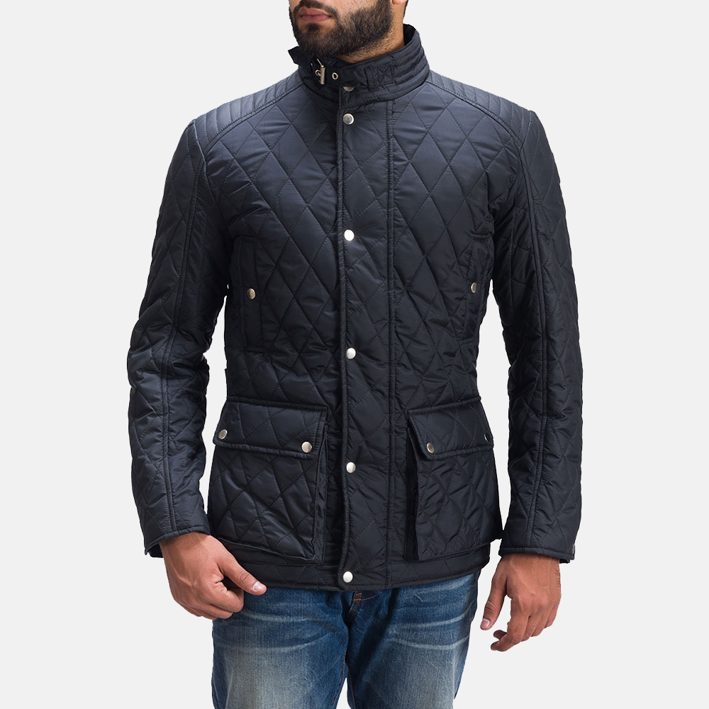 Mens Barry Quilted Windbreaker Jacket 6