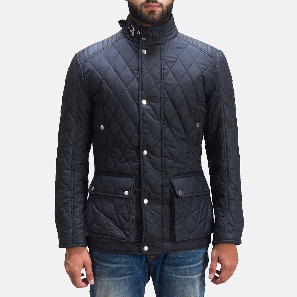 Mens Barry Quilted Windbreaker Jacket 1