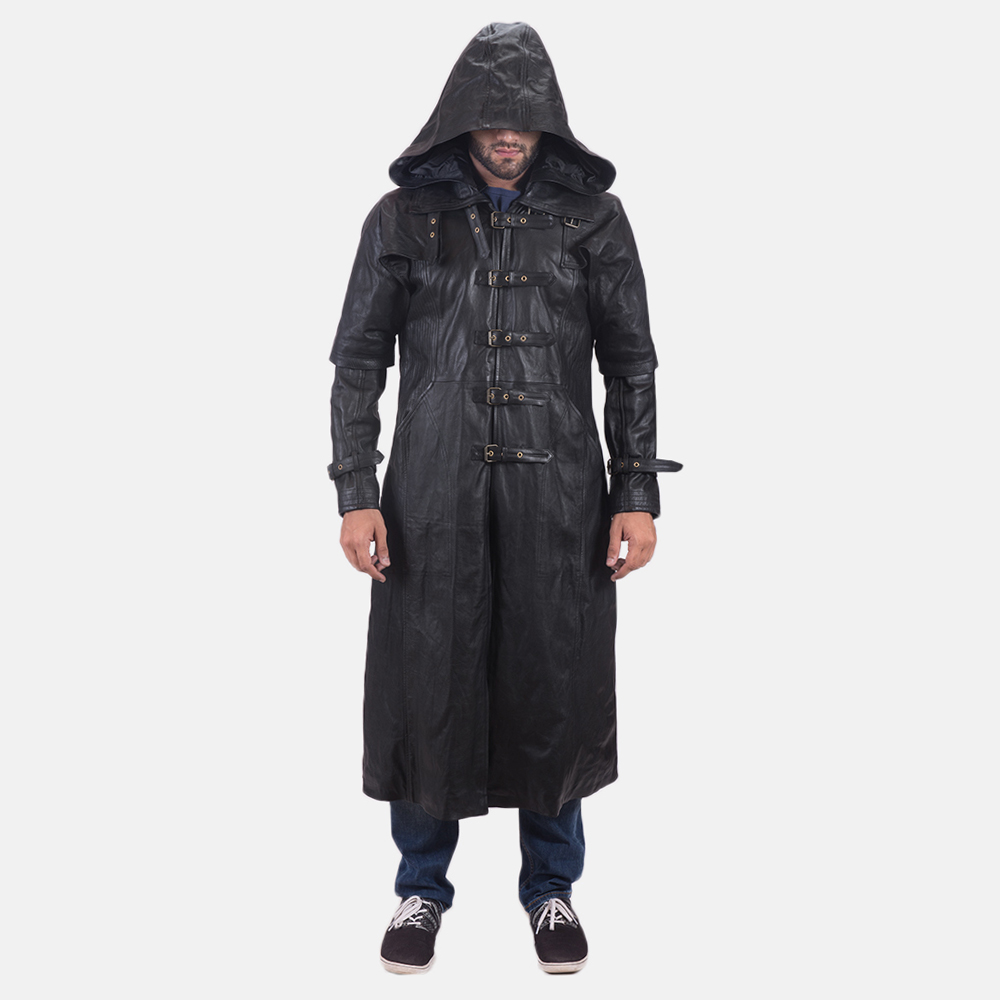 Best prices on Mens hooded black leather trench coat in Men's Jackets & Coats online. Visit Bizrate to find the best deals on top brands. Read reviews on Clothing .