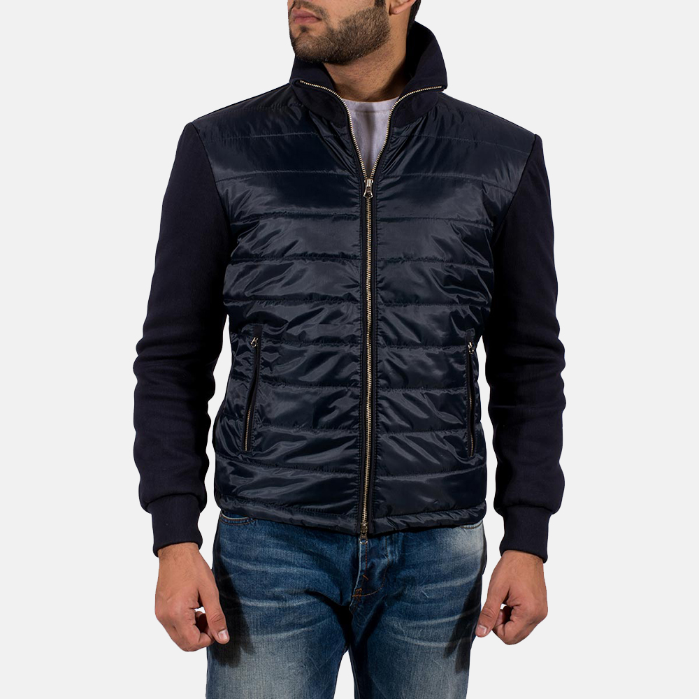 Mens Nashville Quilted Windbreaker Jacket 2