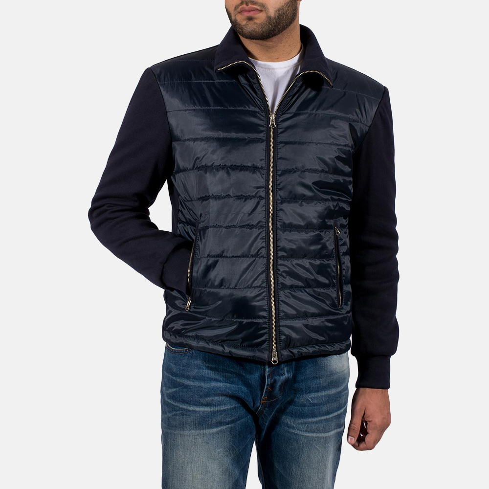 Mens Nashville Quilted Windbreaker Jacket 3