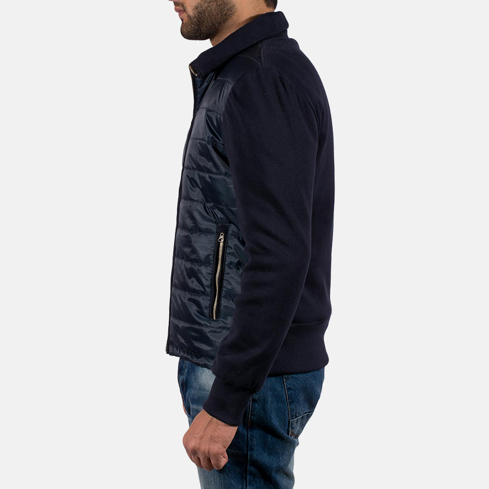 Mens Nashville Quilted Windbreaker Jacket 4