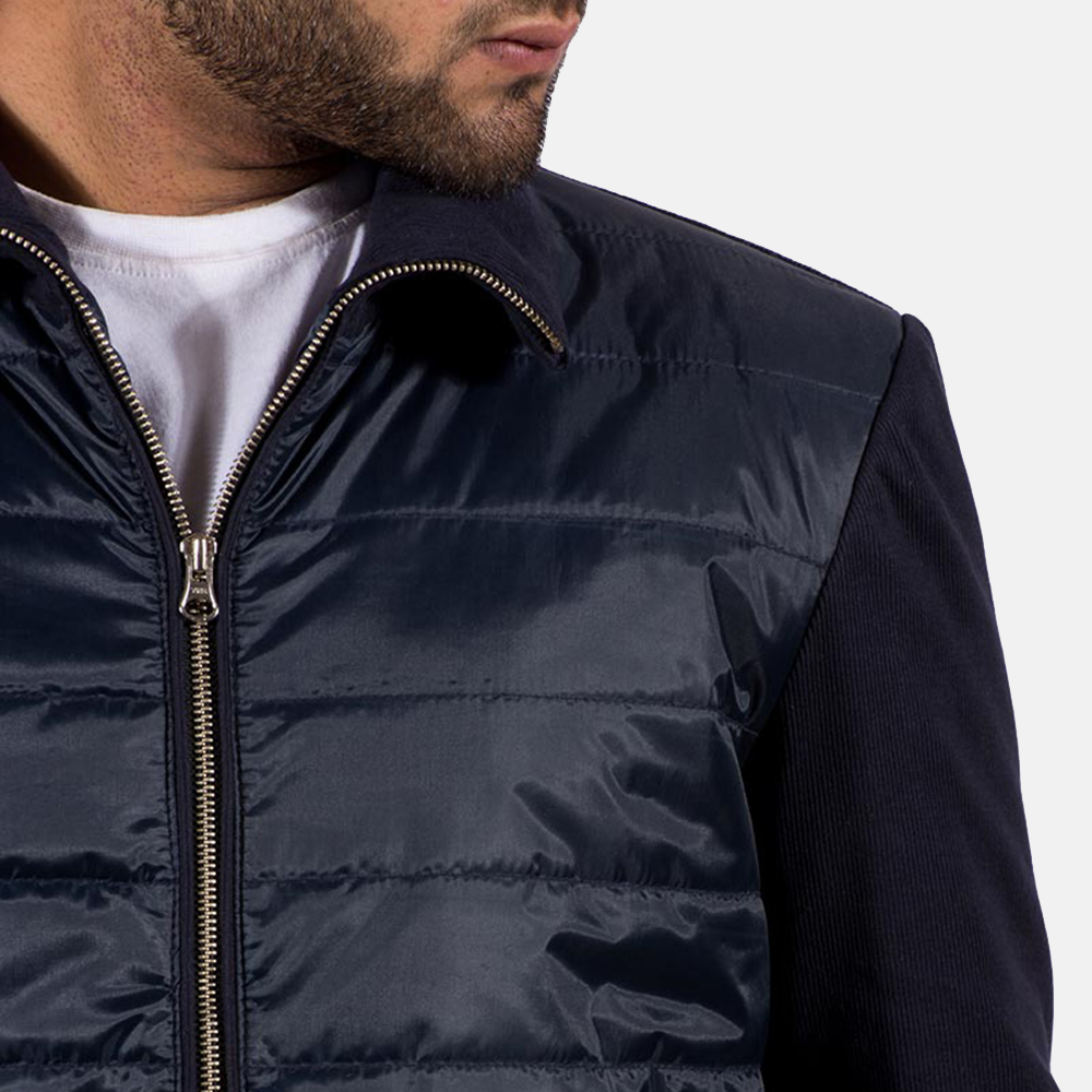 Mens Nashville Quilted Windbreaker Jacket 6