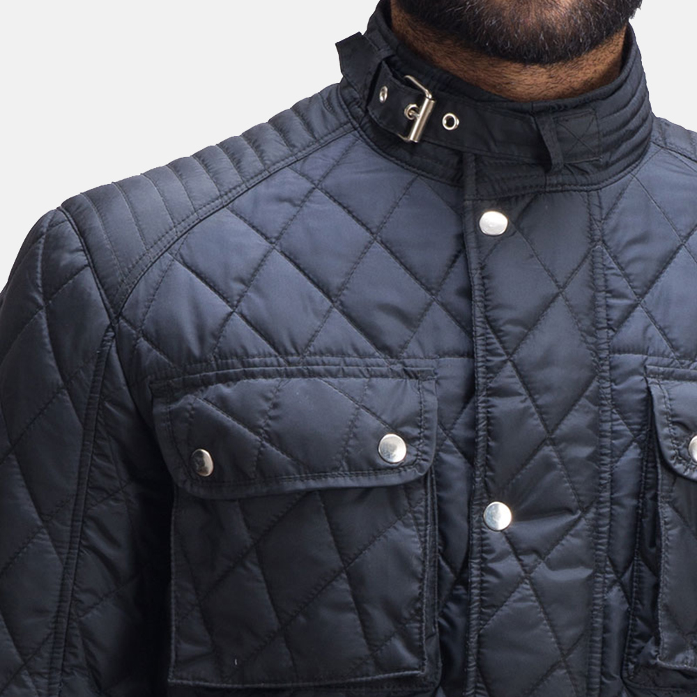 Mens Nelson Quilted Windbreaker Jacket 3