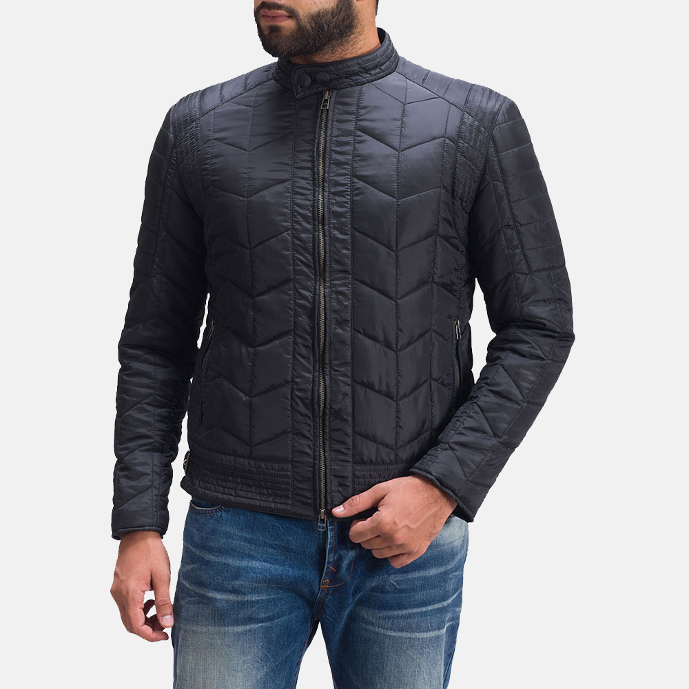 Mens Nyle Quilted Windbreaker Jacket 2