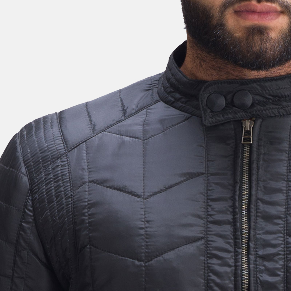 Mens Nyle Quilted Windbreaker Jacket 6