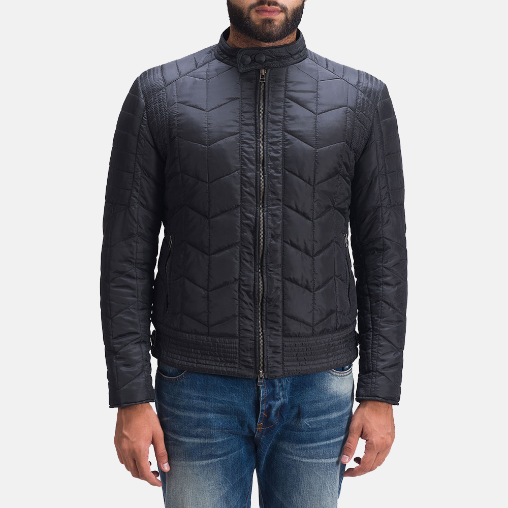 Mens Nyle Quilted Windbreaker Jacket 1
