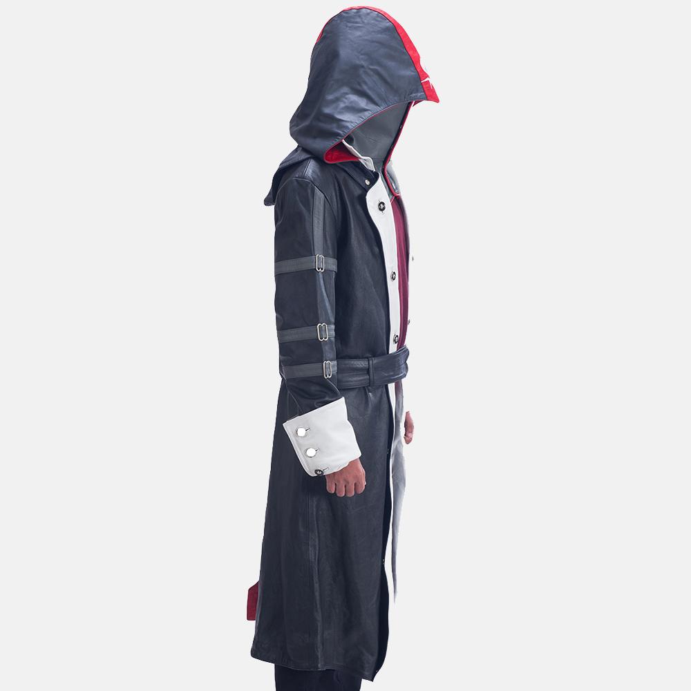 Mens Phantom Lord Leather Costume 4