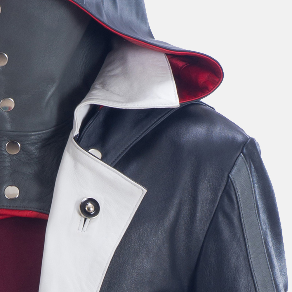 Mens Phantom Lord Leather Costume 5
