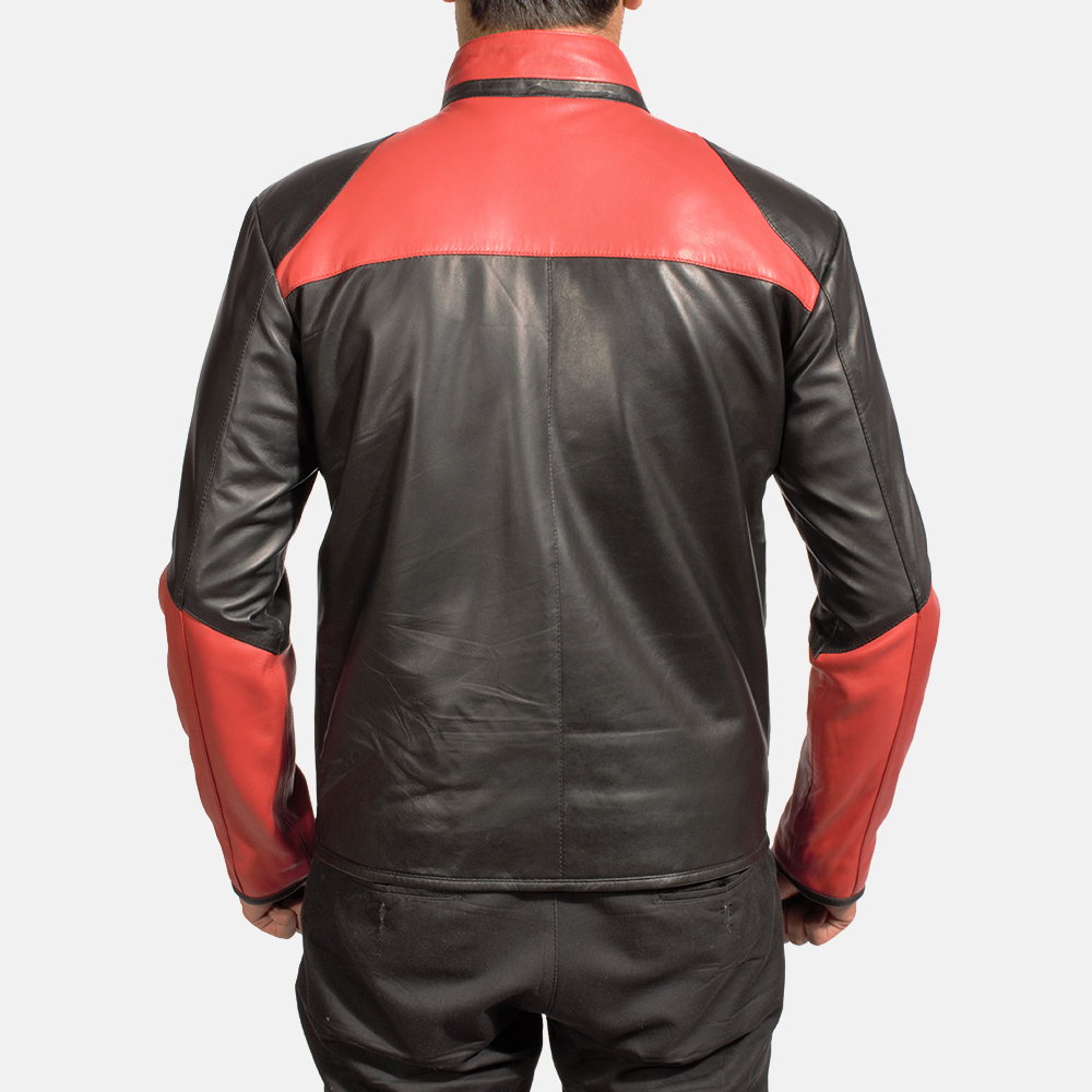 Mens Smoulderon Leather Jacket 4