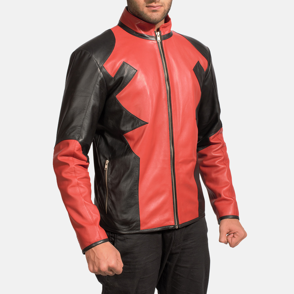 Mens Smoulderon Leather Jacket 2