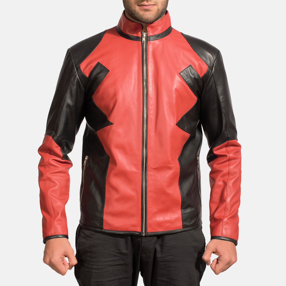 Mens Smoulderon Leather Jacket 1