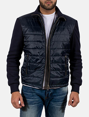 Mens Nashville Quilted Windbreaker Jacket
