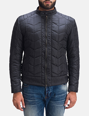 Mens Nyle Quilted Windbreaker Jacket