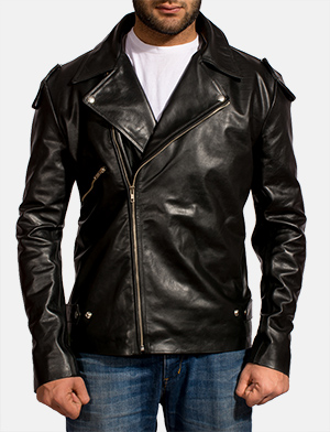 Outlaw%20black%20leather%20biker%20jacket%20for%20men 1491999565576