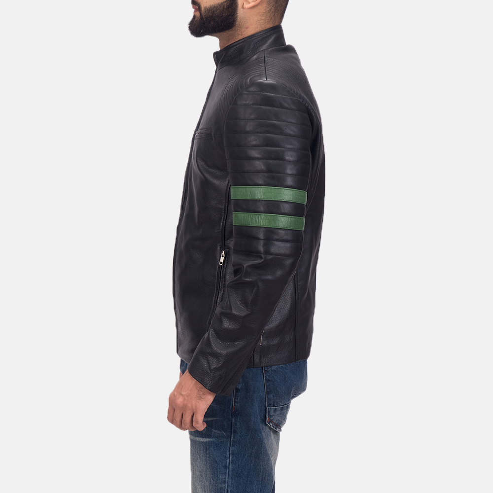 Men's Night Trooper Leather Jacket 5