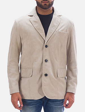 Mens Professor By Day Suede Blazer