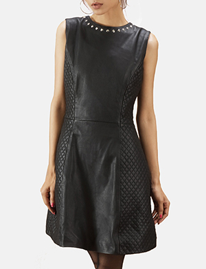 Quilted black dress zoomin 2 a 1491411895794