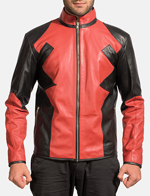Mens Smoulderon Leather Jacket