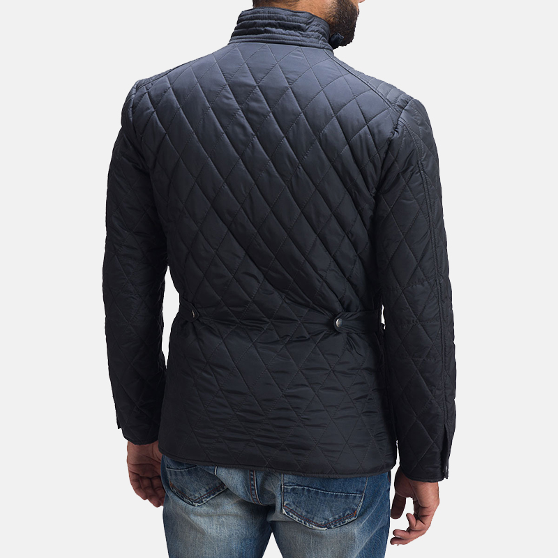 Mens Barry Quilted Windbreaker Jacket 7