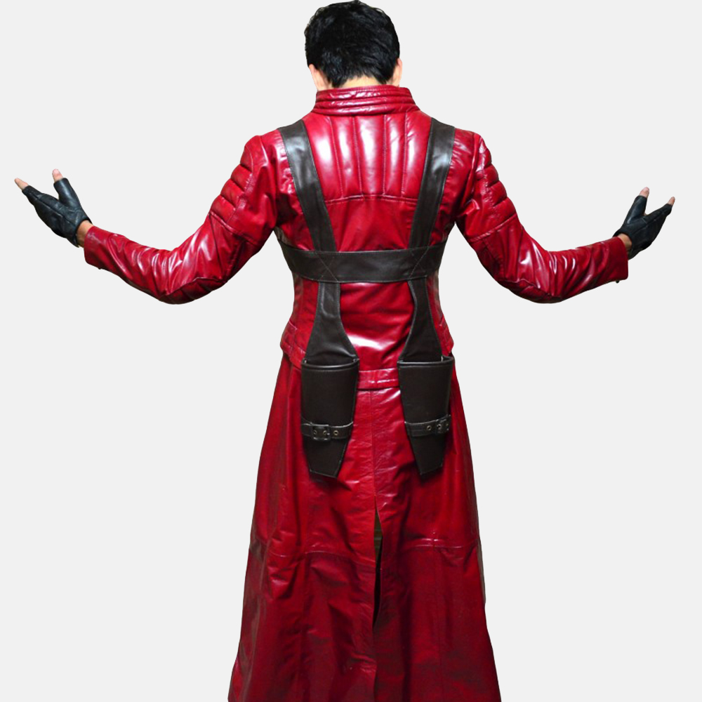 Mens Devil Slayer Leather Costume 4