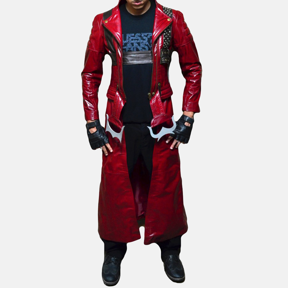 Mens Devil Slayer Leather Costume 1