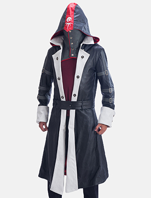 Mens Phantom Lord Leather Costume