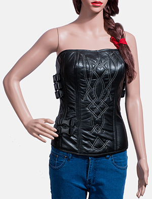 Tribal%20black%20leather%20vest%20for%20women 1491465248414