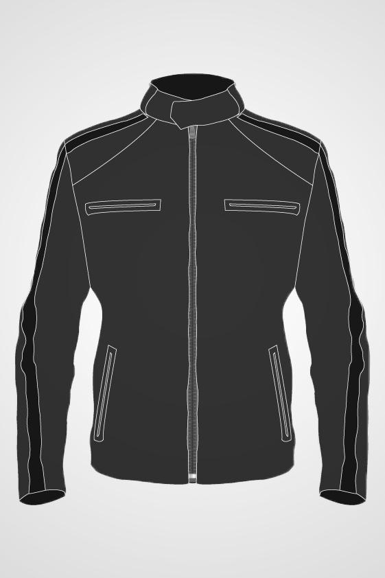 Men's Moto Fashion Jacket