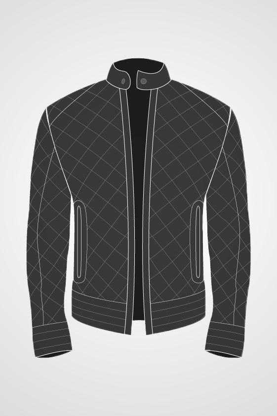 Men's Qulited jacket