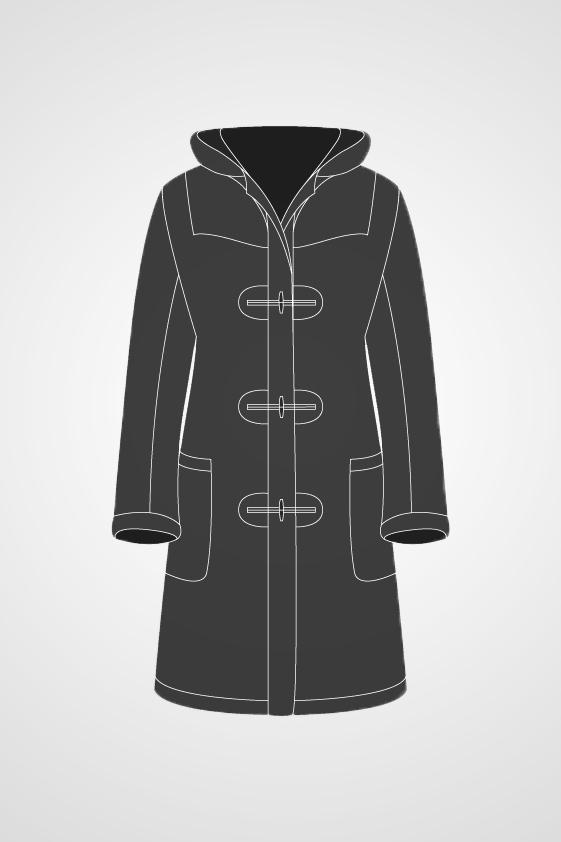 Men's Duffle Coat