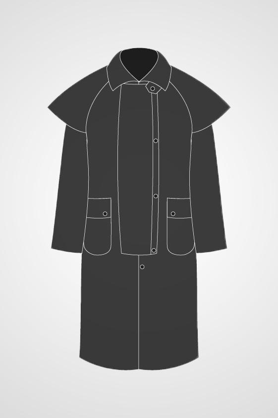 Men's Duster Coat