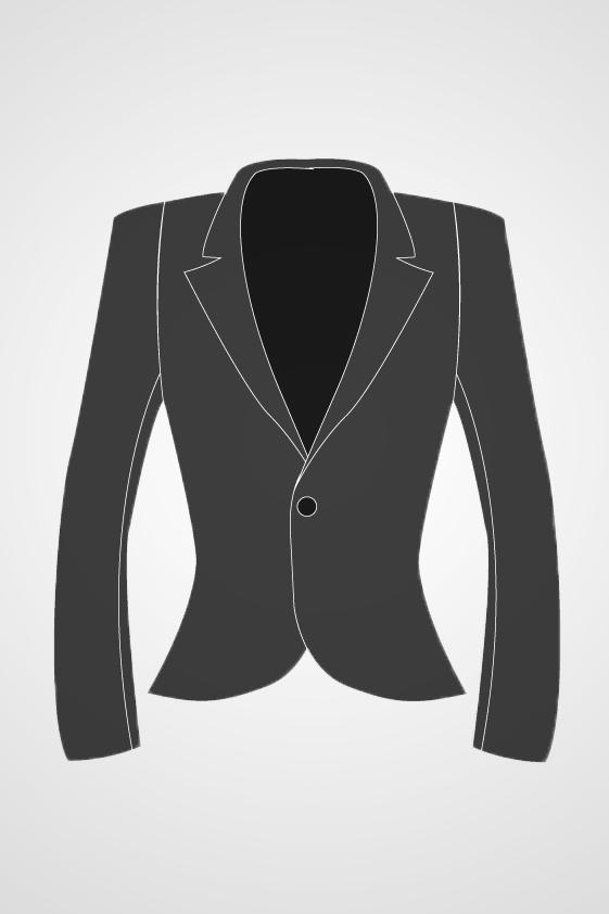 Women's Single Button Blazer